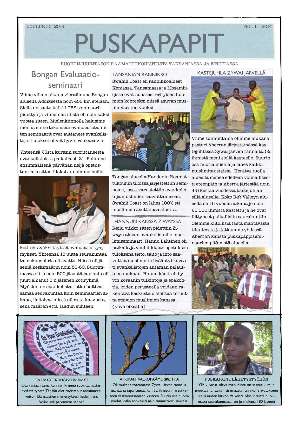uutiskirje joulukuu a 2014